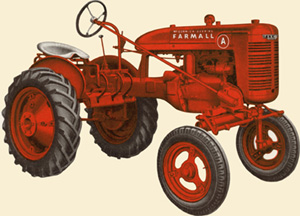 A similar tractor to what I remember